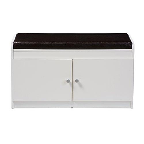 baxton studio margaret modern contemporary wood 2 door