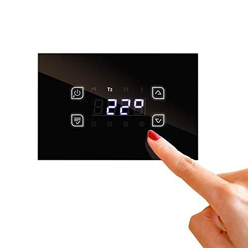 Temperatur-Differenzregler Holzkessel Kaminöfen mit WLAN-Modul und Handy App