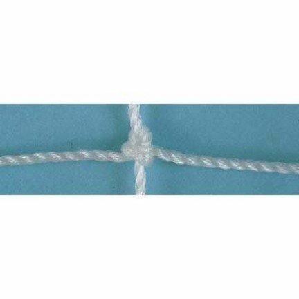 2.0 MM Soccer Goal Nets (ホワイト) – 1ペア B004DPTBOE