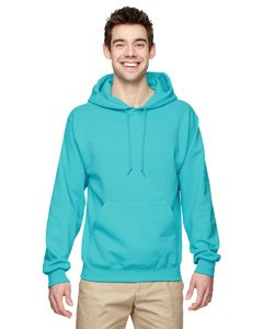 Jerzees Men's NuBlend Youth Hooded Sweatshirt ( Scuba Blue/Medium)