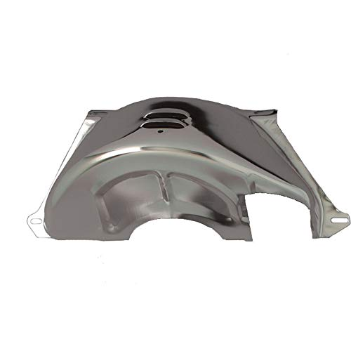 Eckler's Premier Quality Products 61155745 Chevy Truck Flywheel Dust Cover Chrome Turbo HydraMatic 350/400 (TH350/400) Automatic Transmission