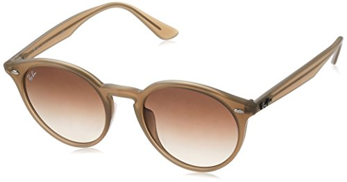 Ray-Ban Mens RB2180F Sunglasses Turtledove / Brown Gradient 49mm