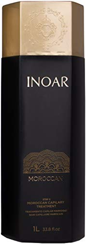 INOAR PROFESSIONAL - Moroccan Keratin Smoothing System STEP 2 ONLY: Moroccan Keratin Treatment (33.8 fl. oz.)