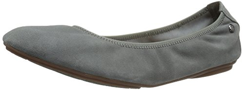 Hush Puppies Womens Chaste Ballet Flat Green Polveroso