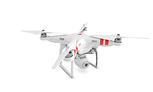 DJI Phantom 2 Vision Quadcopter with Integrated FPV Camcorder (White) and Additional 32GB Memory and High Speed USB Card Reader