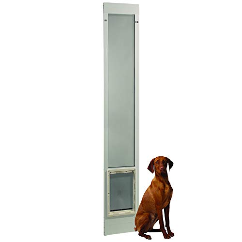 "Ideal Pet Products 96PATSLW 96"" Fast Fit Aluminum Pet Patio Door, Super Large"