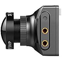 Foxeer Falkor 1200TVL FPV Camera 1.8mm 4:3/16:9 PAL/NTSC G-WDR OSD - Black