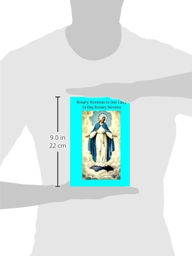 image relating to 54 Day Rosary Novena Printable named Rosary Novenas in direction of Our Woman: 54 Working day Rosary Novena: Catholic