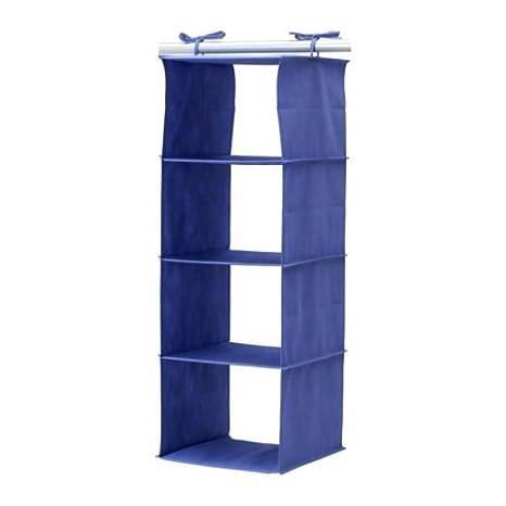 Amazon.com: IKEA JALL 4 Compartimiento colgar clóset ropa ...