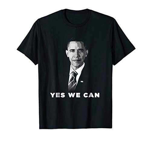 Yes We Can Barack Obama my President Forever Love Tee shirt