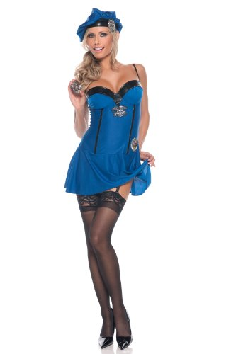 Be Wicked Sexy Mz. Naughty Pd Costume (As Shown;Large/X-Large) -