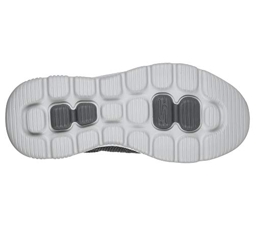 Skechers Men's GO Walk Evolution Ultra-Impeccable Sneaker, Charcoal, 12.5 X-Wide