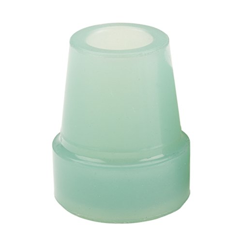 Drive Medical Glow in The Dark Cane Tip, Blue, 3/4 Inch ()