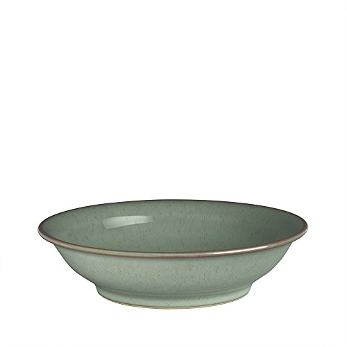 Denby REG-909 Regency Medium Shallow Bowl, Green (Regency Dinnerware)