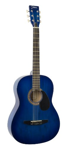 Johnson JG-100-BL Student Acoustic Guitar, Blueburst by Johnson