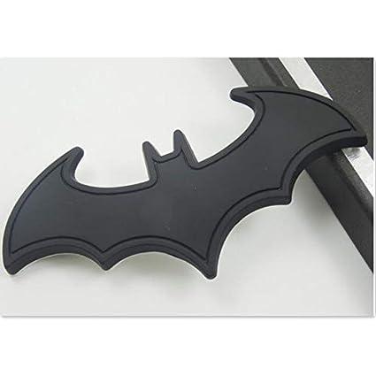 FIOLTY 3D Etiquetas engomadas del Coche Metal Fresco Bat Etiqueta ...