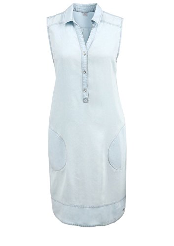 s.Oliver In Tencelqualität - Camisa Mujer Blau (dream blue 5010)