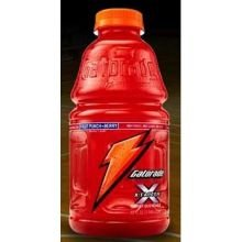 Pepsico Gatorade X-Factor Fruit Punch with Berry Thirst Quencher, 32 Ounce - 12 per case.