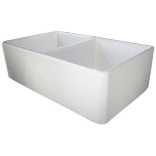 Fireclay Double Bowl Kitchen Sink - 6