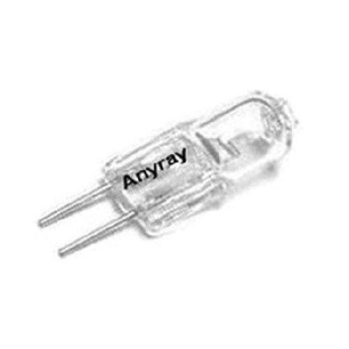 Anyray A1741Y (10)-Pack 20 Watt G4 24V 20W 24 Volt C-6 20Watt Bi Pin T3 Halogen Light Bulb