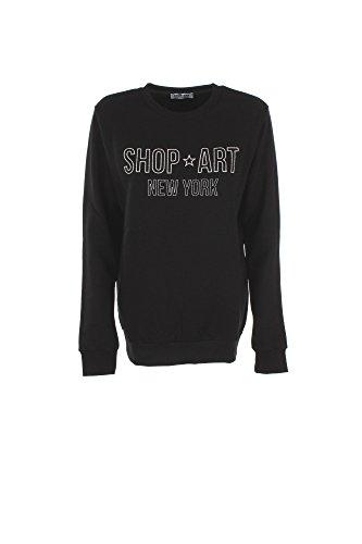 Felpa Donna Shop Art M Nero 17ish32457 Autunno Inverno 2017/18