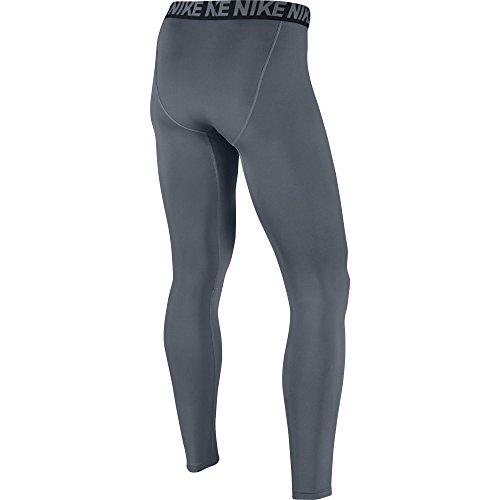 NIKE Men's Base Layer Training Tights, Cool Grey/Black/Black, Medium by Nike (Image #2)