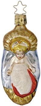 Inge-Glas Heirloom Bible Story Baby Jesus German Glass Christmas Ornament 232706