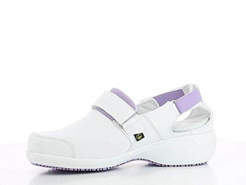 Salma Travail ultraconfortable Blanc Parme Blanche de Chaussures et qXpTg