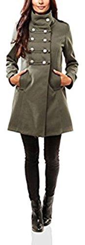 para Manteau Verde Maison mujer Abrigo du nAqxxUW