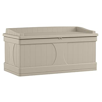 Suncast DB9500 99 gallon Capacity Light Taupe, X-Large