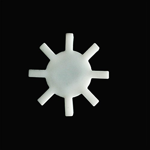 PTFE Magnetic Stirrer Gear Type Octagonal Magneton Stir Bar Spinbar Stirring Mixer (Magnetic Mixer For Food compare prices)