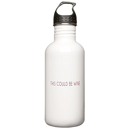 CafePress - This Could Be Wine Water Bottle - Stainless Steel Water Bottle, 1.0L Sports Bottle