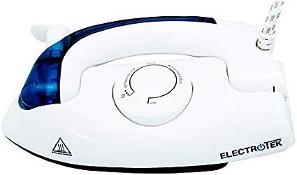 ELECTROTEK Plancha de Viaje con Mango Plegable, 700W ET-TSI800