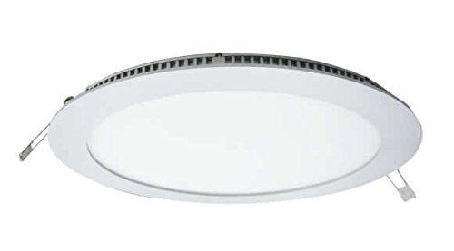Downlight LED 18W DOOM by LEDESMA ESPAÑA, redondo plano, aluminio, color blanco, color 6000K [Clase de eficiencia energética A+]: Amazon.es: Iluminación