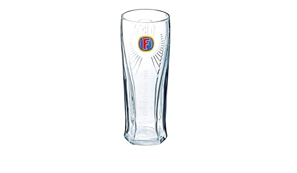 Set Of 2 Fosters Half Pint 10oz Glasses Brand New 100/% Genuine Official