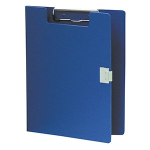 (Briggs Healthcare Clipboard - Poly - Covered - Blue)