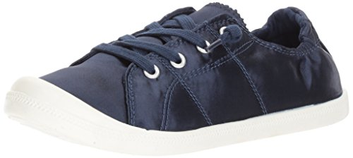 Madden+Girl+Women%27s+Baailey+Fashion+Sneaker%2C+Navy+Satin%2C+8+M+US