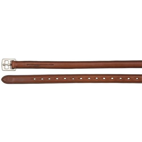 Ovation Nylon Lined Stirrup Leathers - Size:3/4 X 54 Color:Medium Brown ()