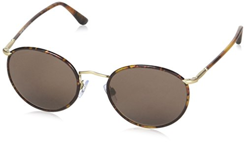 Giorgio Armani Sunglasses (AR6016J) Gold Matte/Brown Metal - Non-Polarized - 51mm (Armani Sunglasses Giorgio)