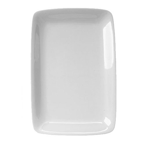 Harold Import 401424 White Porcelain Rectangular Platter 8