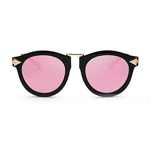 QZ Gafas 4 Vintage Metal Avant Ejercicio Reflexivo Personalidad UV400 Color Garde Luz 5 Anti De Playa Polarizada Espejo Decorativo HOME Sol Ultralight RRw54