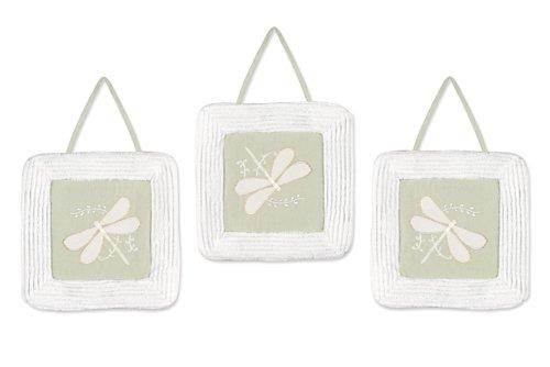 Sweet Jojo Designs Wall Hanging - Green Dragonfly Dreams