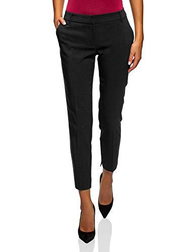 Pinzas Con Pantalones Collection 2900n Mujer Negro Oodji Básicos xwHOqwF
