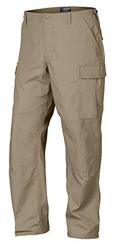 LA Police Gear Rip-Stop Mil-Spec BDU Pants - Pants Cotton Khaki Ripstop Bdu