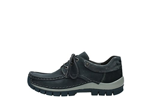 Winter Wolky Cuir À Lacets Chaussures 59800 Comfort Bleu Fly 4Rj3AqL5