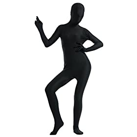 - 31Ikl98DwVL - Ensnovo Womens Spandex Lycra One Piece Full Body Suits Zentai Costume