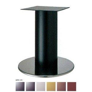 e-kanamono テーブル脚 ソフトS7520 ベース520φ パイプ210φ 受座350x350 ステンレス/塗装パイプ AJ付 高さ700mmまで ゴールドメタリック B012CF7A3A ゴールドメタリック ゴールドメタリック