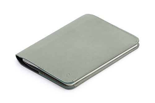 Bellroy Leather Notebook Cover Eucalyptus