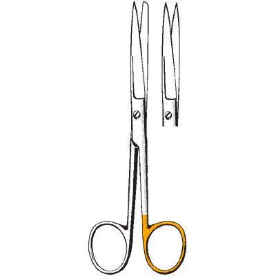 Sklar Instrument 23-1262 Sklarlite Sklarcut Operating Scissors, Straight, Sharp/Blunt, 5-1/2''
