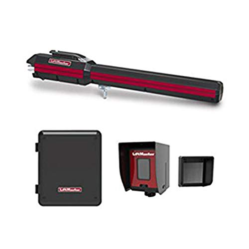 Liftmaster LA500PKGU 24VDC Residential/Light Commercial Single Gate Opener Kit - Included Liftmaster 828LM Internet - Unswitched Single